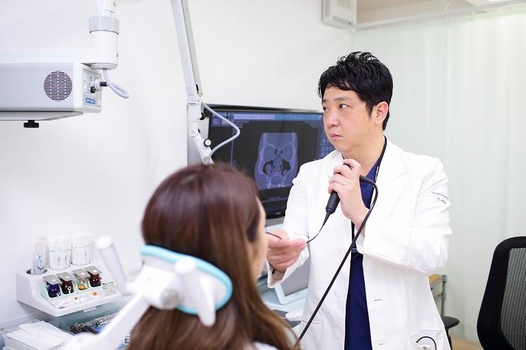 慢性副鼻腔炎の検査